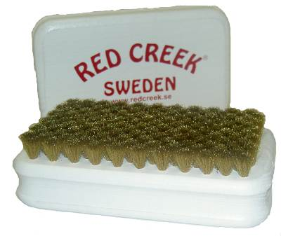 RED CREEK handbrush brass fine [REDCR042]