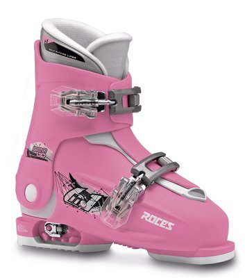 Roces Idea Up skischoen - Deep Pink-White (maat 30-35 )