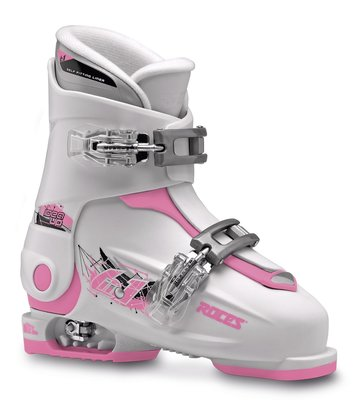 Roces Idea Up skischoen - White-Pink - (maat 30-35)