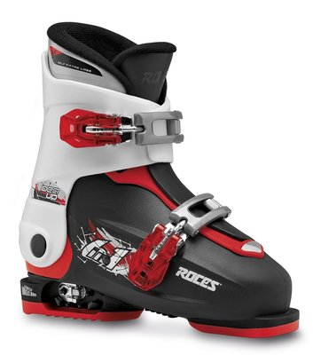 Roces Idea Up skischoen - Black-White-Red (maat 30-35 )