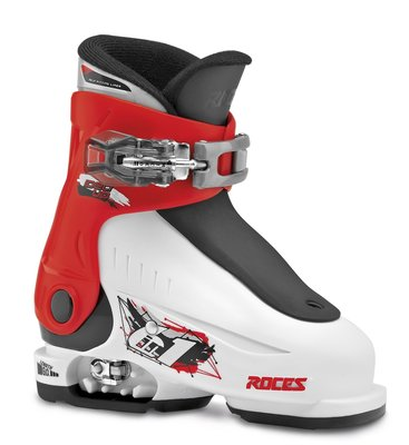 Roces IDEA UP skischoen WHITE-RED-BLACK (maat 25-29.5)