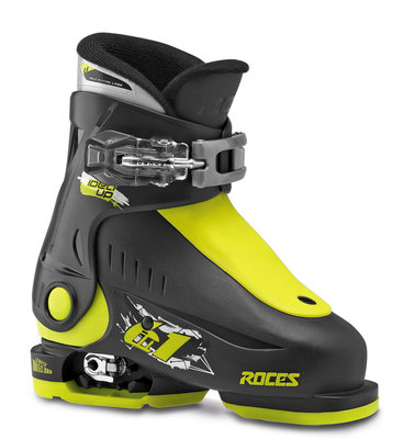 Roces Idea Up sksichoen- Black-Lime (maat 25-29)