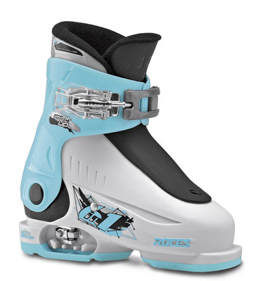 Roces idea Up skischoen - White-Light blue-Black (maat 25-30)