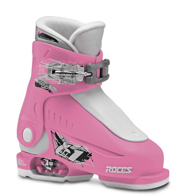 Roces Idea Up skischoen - Pink-White (maat 25-29.5)