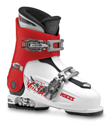 Roces IDEA UP skischoen - WHITE-RED-BLACK (maat 30-35)