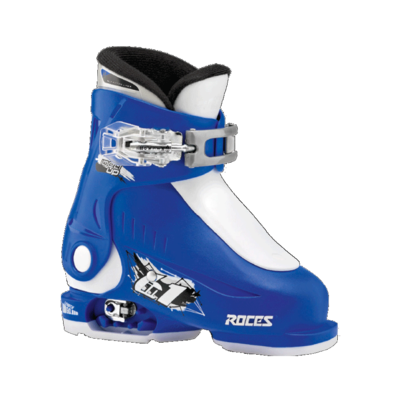 Roces Idea Up skischoen - Blue/White (maat 25-30)