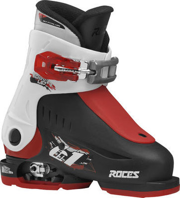 Roces Idea Up skischoen - Black/White/Red (maat 25-29)