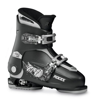Roces Idea Up skischoen - Black-Silver (maat 30-35)