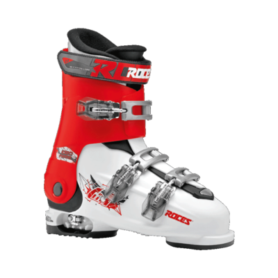 Roces Idea Free skischoen - White/Red/Black (maat 35-40)