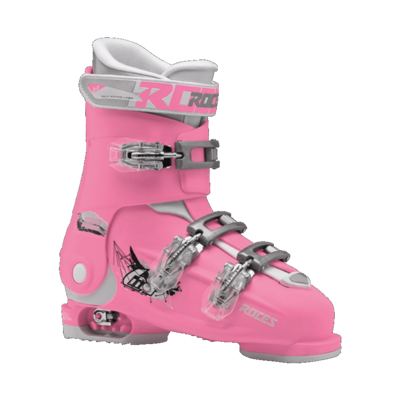 Roces Idea Free - Pink-White - 22.5-25.50 - 35-40