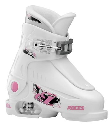 Roces Idea Up skischoen - White-Pink (maat 25-29)