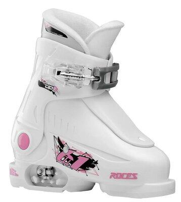 Roces Idea Up - White-Pink - 16.0-18.5 ROZE 25-29