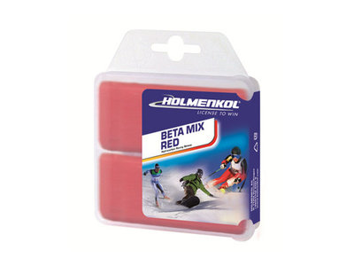Holmenkol Betamix RED wax 2x 35gr [24114]